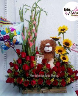 Arreglos Florales Cumpleaños